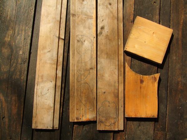 palántajelölők maradék fából